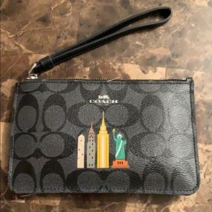 Handbags - Coach NYC Skyline wristlet